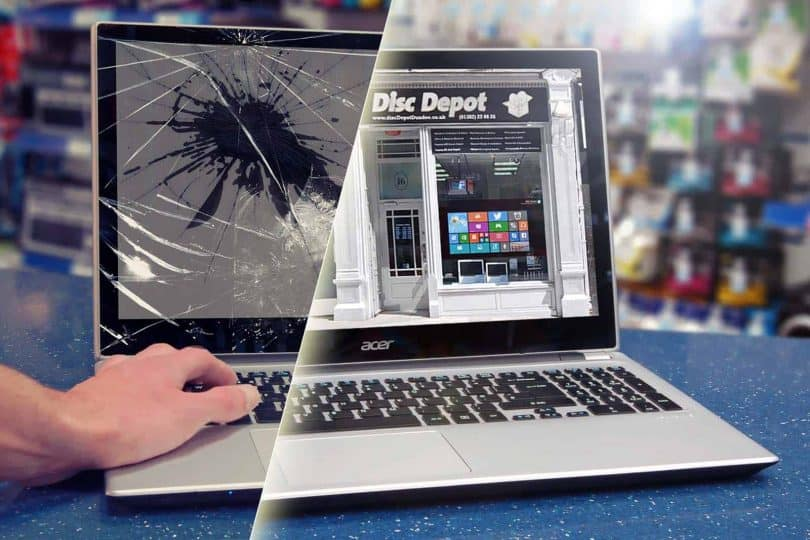 How to Fix Cracked laptop screen without replacing it