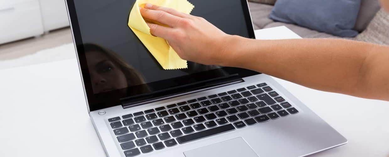 How To Clean a Laptop Touch Screen
