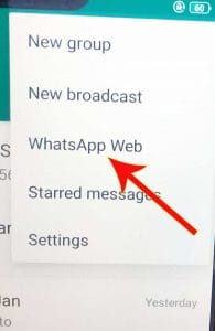 settings for whatsapp on mobile