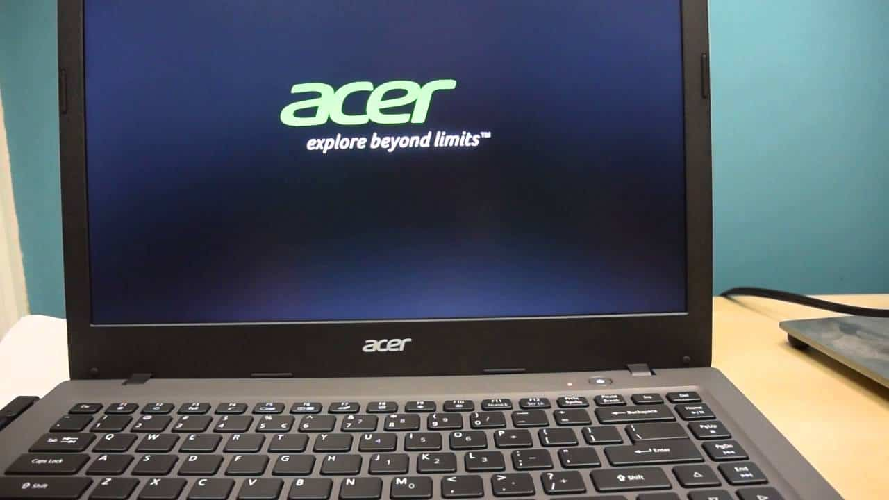 acer login without password